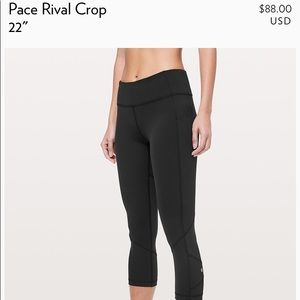 Brand new lulu cropped leggings